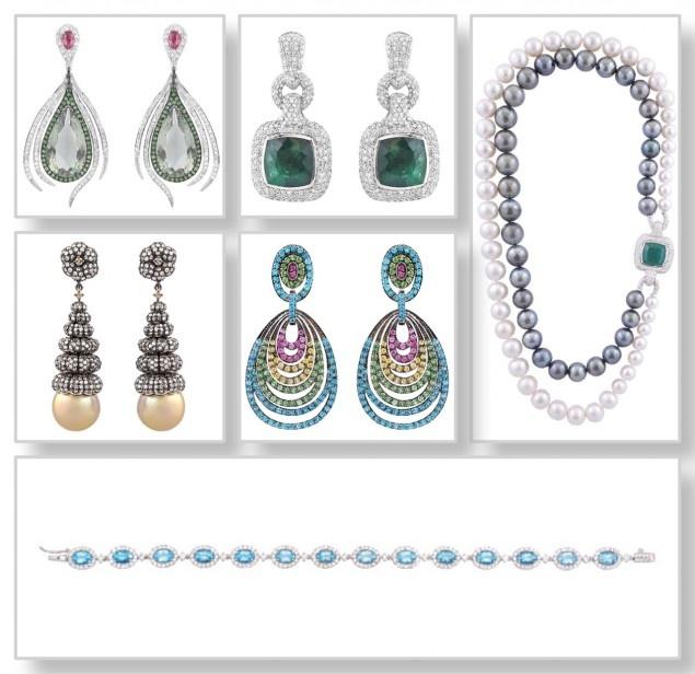 Coleção de joias Bergerson