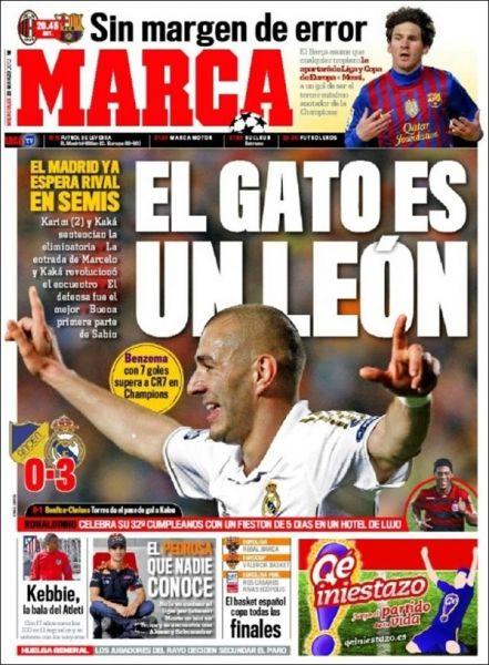 Te presentamos las portadas de los diarios deportivos en el mundo, El Papelón