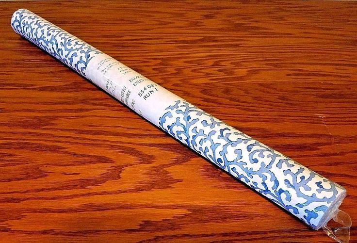Waverly Wall Covering Wallpaper Blue White Cottage Savoy 60.75 Sq Ft Double Roll #YorkWallcoverings #Farmhouse