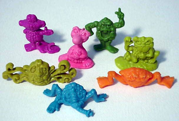 cereal from the 70s | Seven Freakies existed: Boss Moss (the leader), Cowmumble, Gargle ...