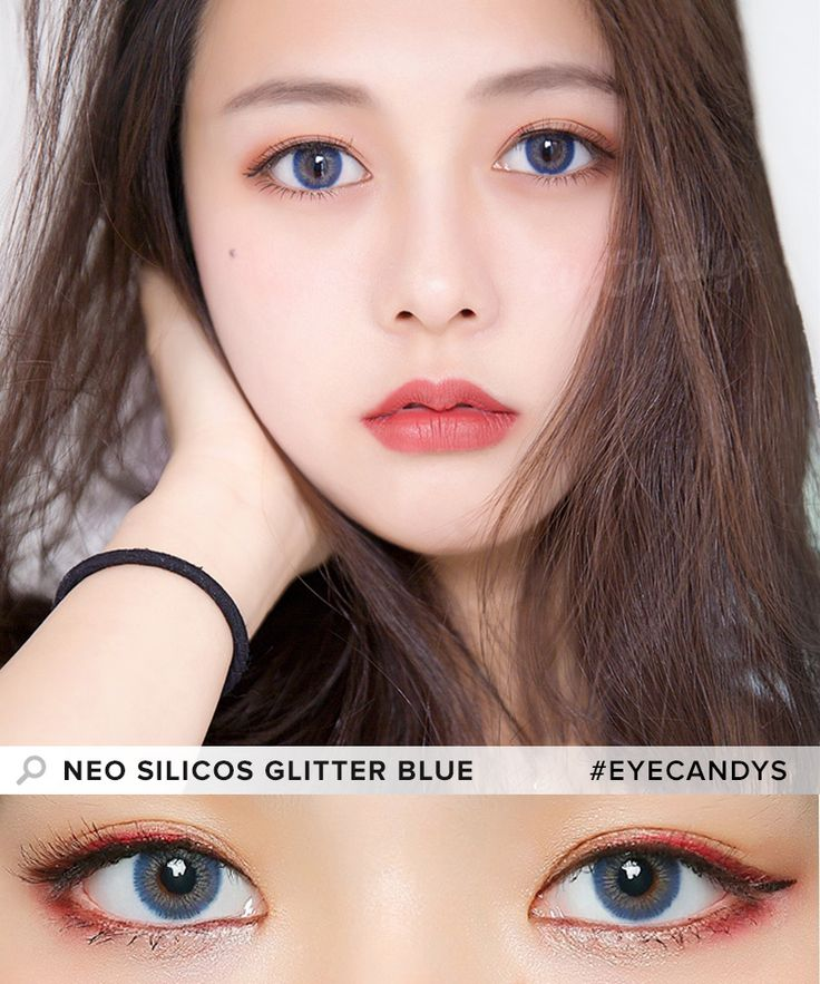 NEO Silicos Glitter Blue A touch of sparkle to your eyes is all you need to brighten up your look. Let the NEO Silicos Glitter Colored Contacts do just that for you! Shop now!