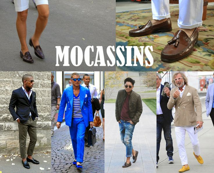 FutureGspot: Mocassins - men's secret weapon