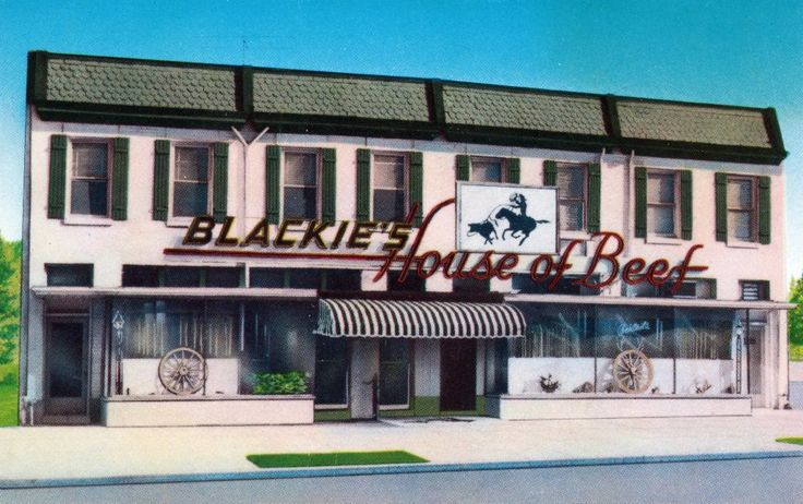 Blackies' House of Beef, 22nd Street NW . Washington dc