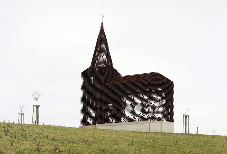 Theres Less To This Belgian Church Than Meets The Eye