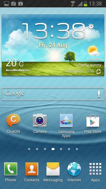 Samsung Galaxy S III - Jelly Bean gia' disponibile per i cellulari di H3G