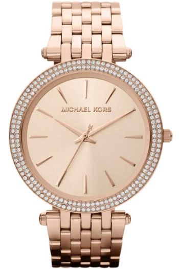 Michael Kors Darci Watch - rose bracelet & rose dial MK3192 £150