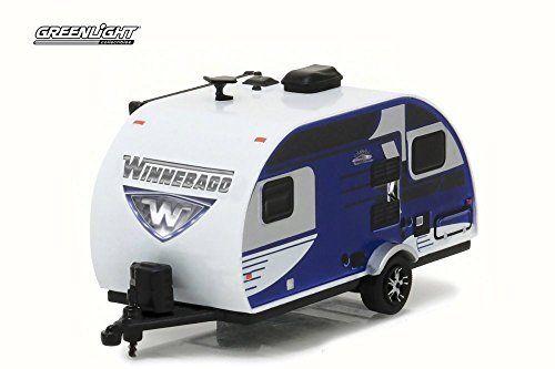 2016 Winnebago Winnie Drop 1710, Blue   Greenlight 34020D   1/64 Scale Diecast Model Toy Car. #Winnebago #Winnie #Drop #Blue #Greenlight #Scale #Diecast #Model