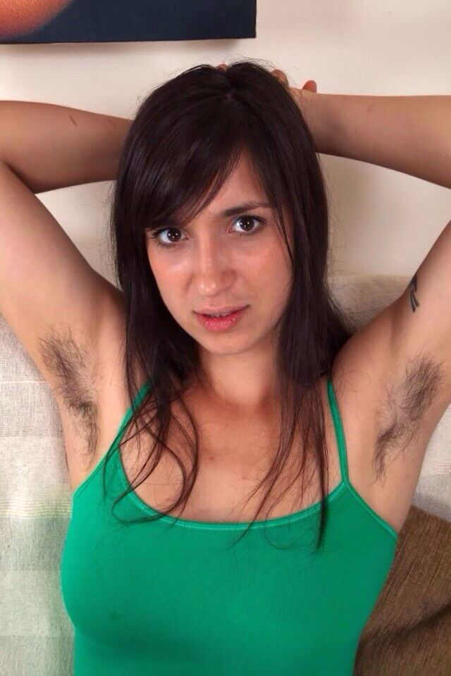 Mature hairy pits