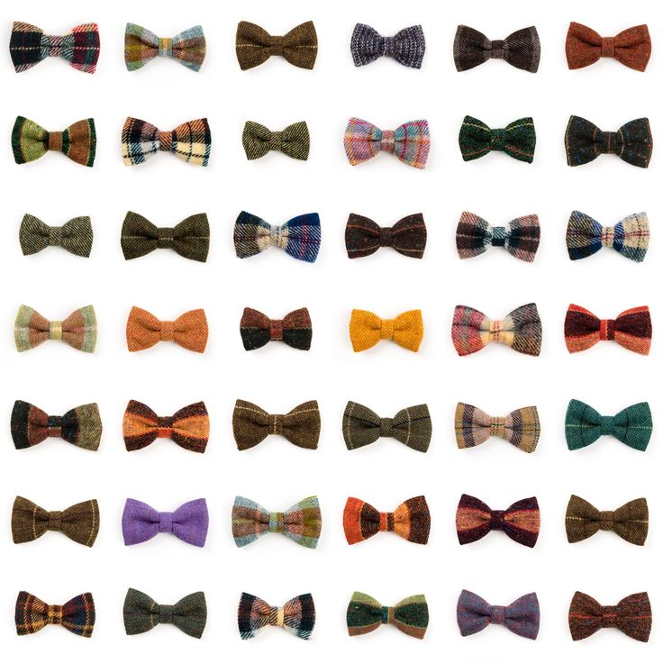 Luxurious #Donegal #tweed #bowties.