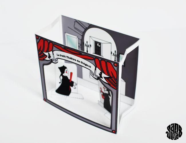Le Petit Theatre de Poche: Guignol (Free Printable) - Sanglota.com