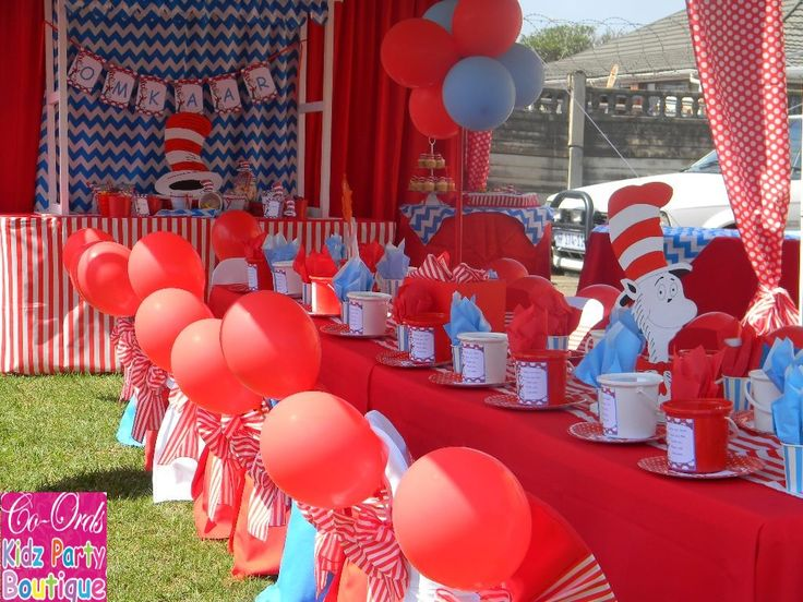 Cat in the Hat party by Co-Ords Kidz Party Boutique