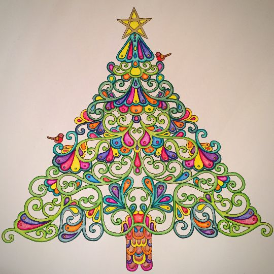 213 best Johanna Basford christmas images on Pinterest | Coloring ...