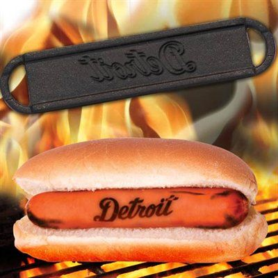 Detroit Tigers Hot Dog BBQ Brander