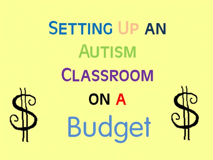 Special Education Classroom Decoration : Best autism teacher special education self