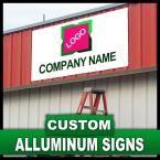 18 in. x 24 in. Custom Aluminum Sign, Unlimited Colors