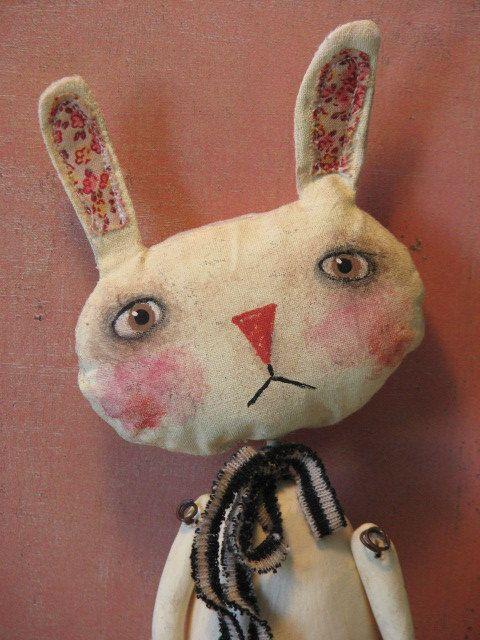 primitive bunny love