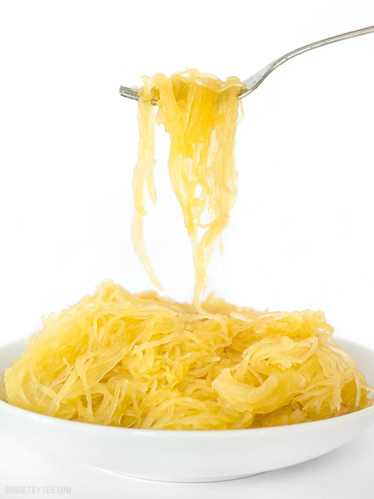 Slow Cooker Spaghetti Squash takes the mystery and effort out of preparing this sometimes large and awkward vegetable. BudgetBytes.com