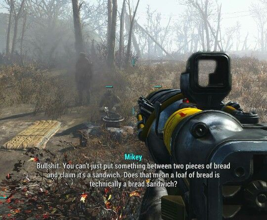 Fallout 4   Gotta love the dialogue