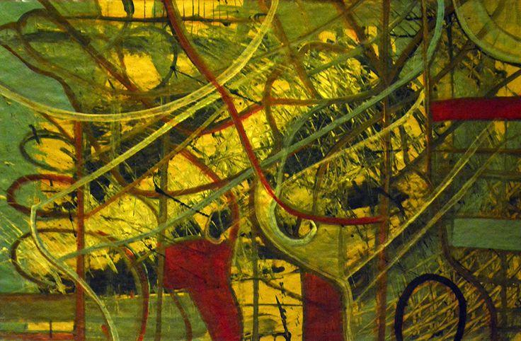 Pintura orgánica Autor: Hector Inda Año: 2014