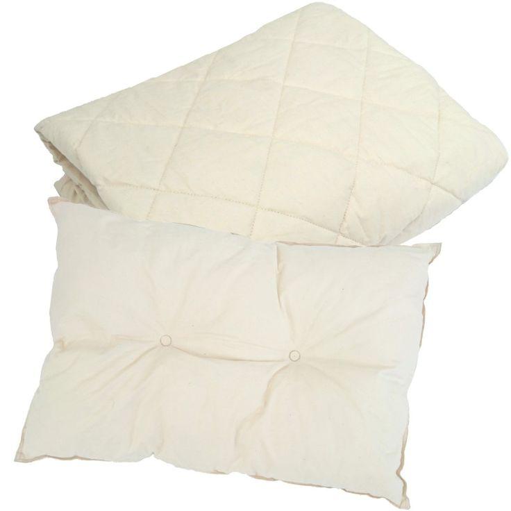 Ekologiskt täcke & kudde, spjälsäng - Summerville Organic - Ekologiskt & Tryggt - GoodforKids
