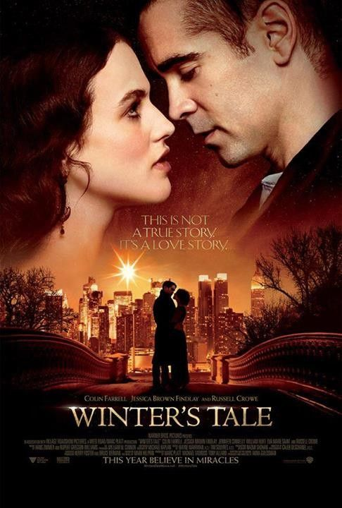 Winter's Tale starring Colin Farrell, Russell Crowe, Jessica Brown Findlay, Jennifer Connelly, Will Smith