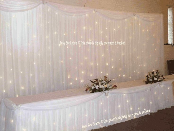 Diy Wall Draping For Weddings That Meet Interesting Decors: Busy_Bee_Twinkle_Backdrop_1.png (750×563)
