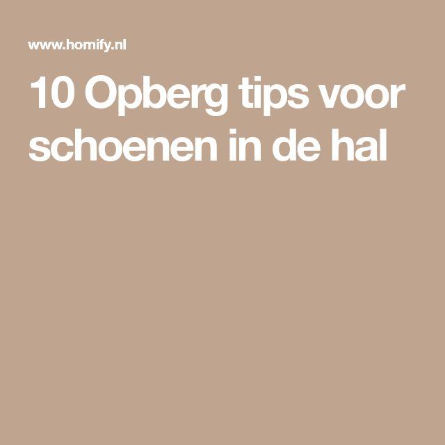 10 Opberg tips voor schoenen in de hal