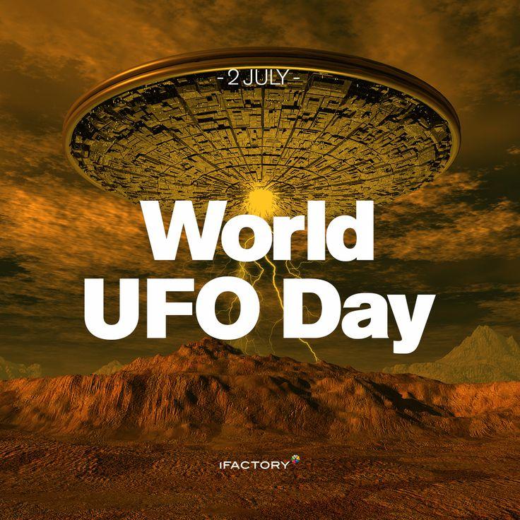 The 2nd of July just happens to be World UFO Day so keep your eyes peeled! #ufo #holiday #wacky #funny #loveit #awesome #ifactory #ifactorydigital #digitalagency #digitaldesign