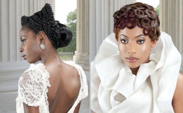 50 Wedding Hairstyles For Nigerian Brides And Black: 381 Best African American Wedding Hair Images On Pinterest