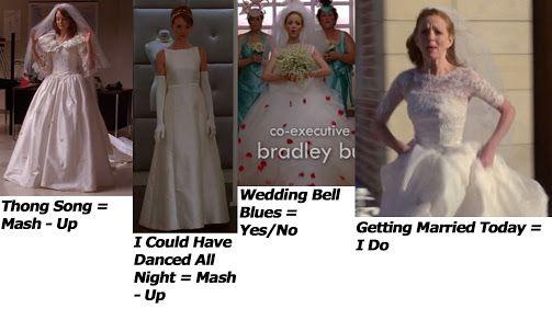 glee emma wedding dress - Google Search