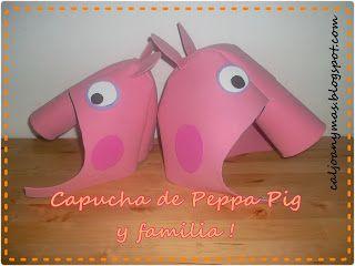 DISFRAZ DE PEPPA PIG (parte 1)