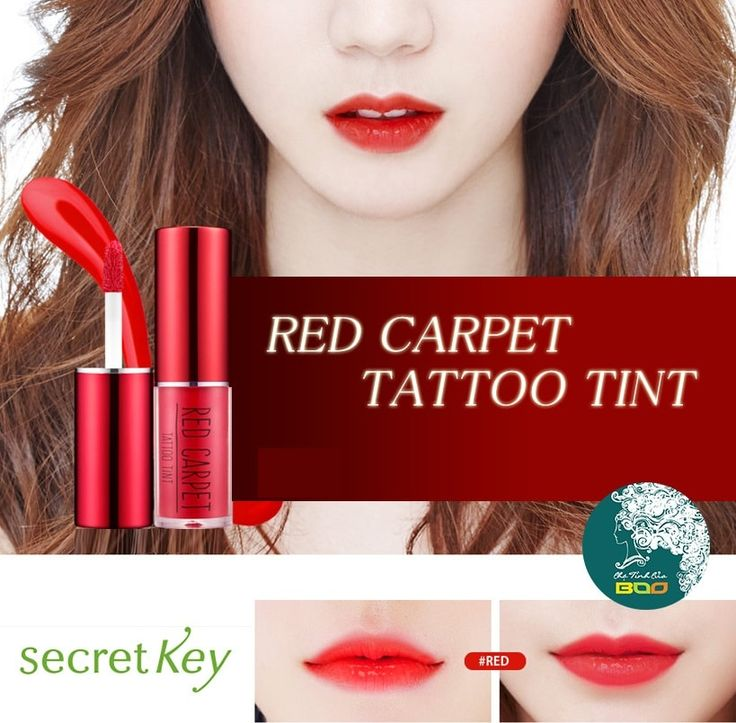Korean [secretkey] Red Carpet Tattoo Tint (4 Color) 3.3g「koreabuys.com」