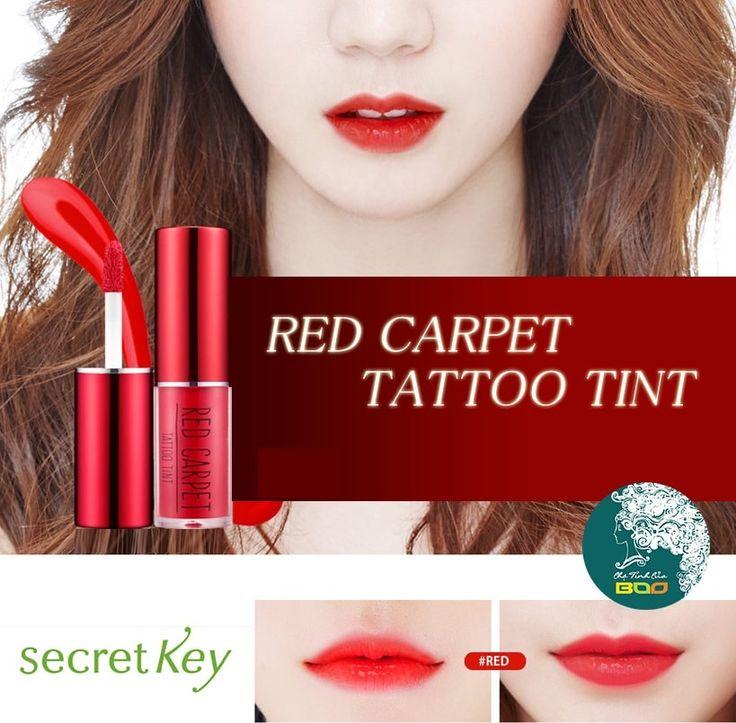 Korean [secretkey] Red Carpet Tattoo Tint (4 Color) 3.3g「koreabuys.com」