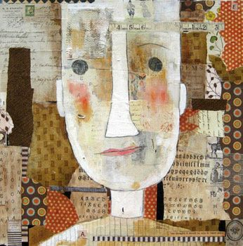 Love that Guy, © Barbara Olsen mixed media