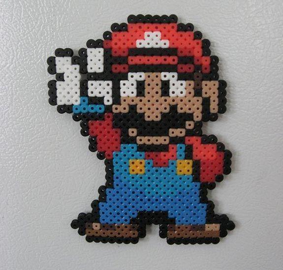 Coolest latest gadgets   Mario and Luigi Perler Beads Fridge Magnets   New technology gadgets   High tech electronic gadgets