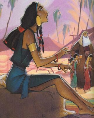 Tzipporah; The Prince of Egypt.  I love this movie.