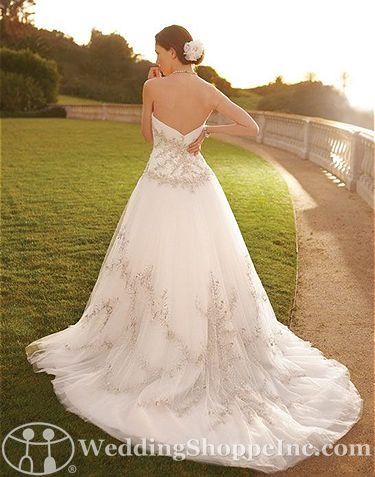 Casablanca Bridal Gown 2056. Love the beading!!