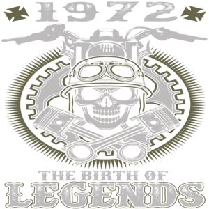 1972 - THE BIRTH OF LEGENDS Tshirt and sweater ,Make someone happy with the gift of a lifetime,this includes back to school,thanksgiving,birthdays,graduation,Christmas,Halloween costumes,first day,last day,and any special celebrations. For womens,you