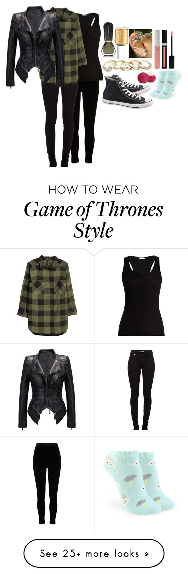 """""""Chapter One - The Capture"""" by nixasecus on Polyvore featuring River Island, Burberry, Skin, H&M, Forever 21, Oribe, Essie, GUESS, Converse and Christian Dior"""