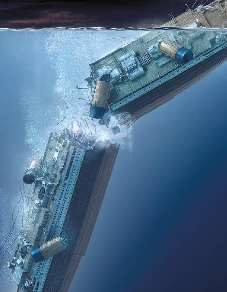 Titanic sinking                                                                                                                                                                                 More