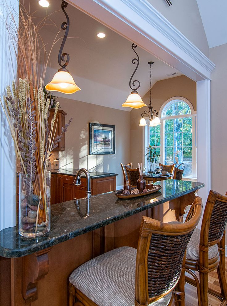 Bar kitchen and breakfast room from the lennon plan 1300 - Bar room in house ...
