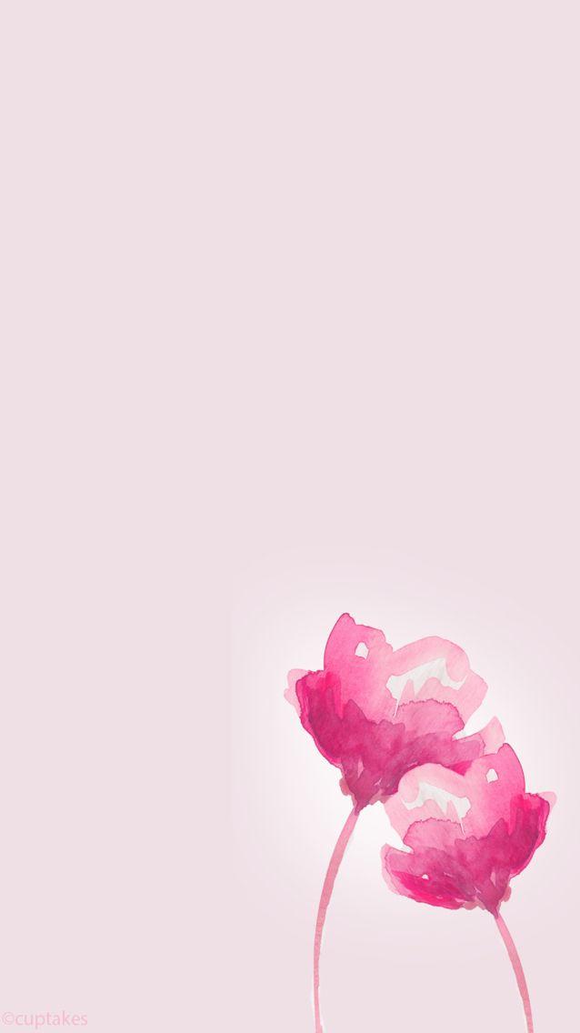 Pink flowers ~ wallpapers/lock screen/background