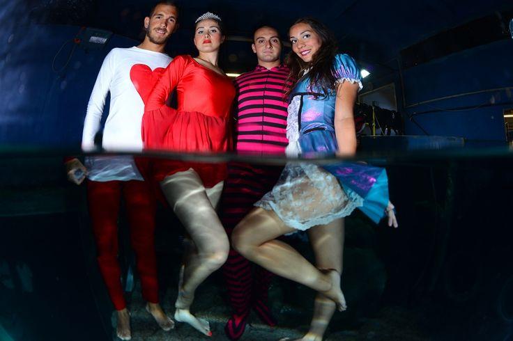 Alice in Wonderland underwater show @Turkuazoo Akvaryum Aquarium