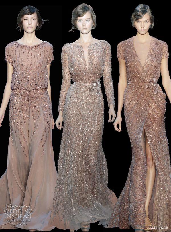 Elie Saab   Sparkling Nudes  couture