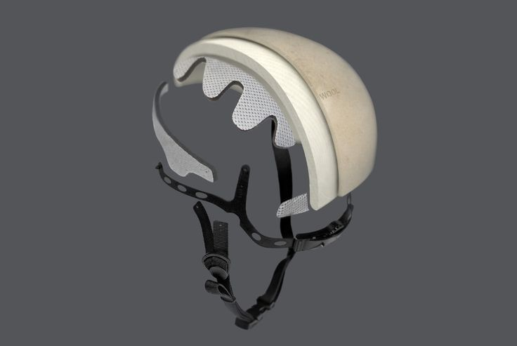 Casque vélo design 95 % pure laine de mouton par Alexandre Echasseriau