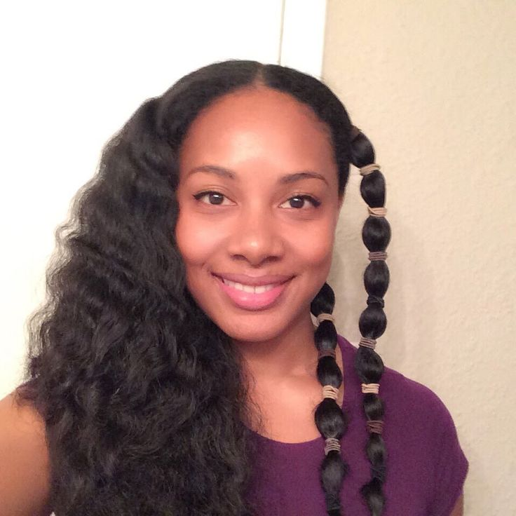 Heatless Waves on Natural Hair l The Banding Method