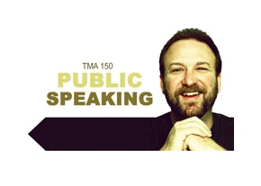 TMA 150: Public Speaking- Master your next public speech as you learn principles and methods of public speaking, speaking exercises. 3 credit course, BYU Independent Study.