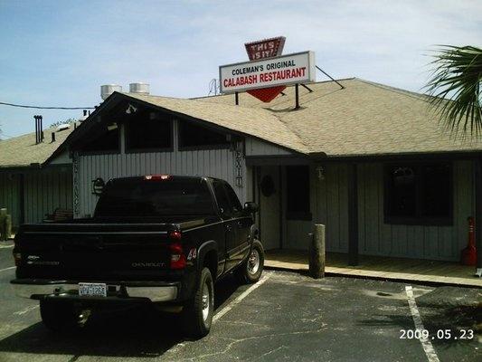 Coleman's Original Calabash Seafood Restaurant, Calabash NC
