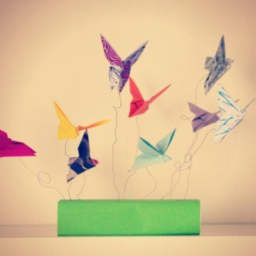 Papillons, Mobiles and Origami on Pinterest
