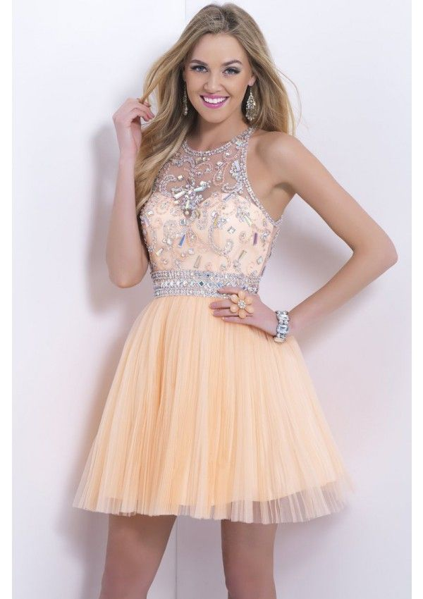 Light Colored Short Prom Dresses